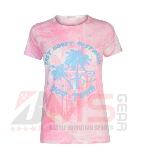 Women Sublimated T-Shirts