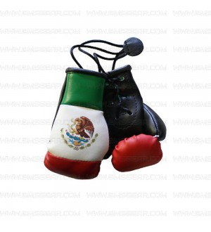 Mexican Mini Boxing Gloves