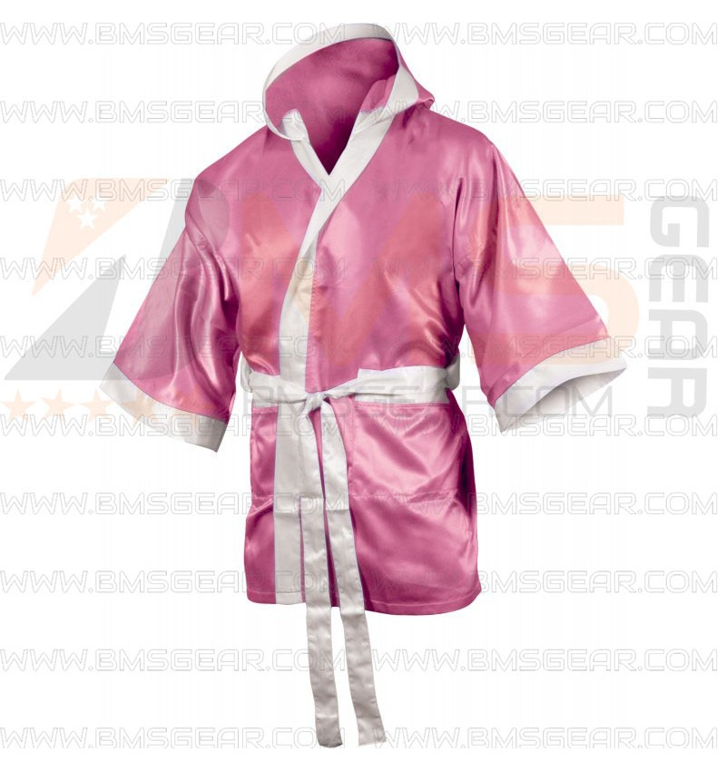 Personalised Boxing Robes: Custom Design Ladies Boxing Robe Suppliers Pakistan
