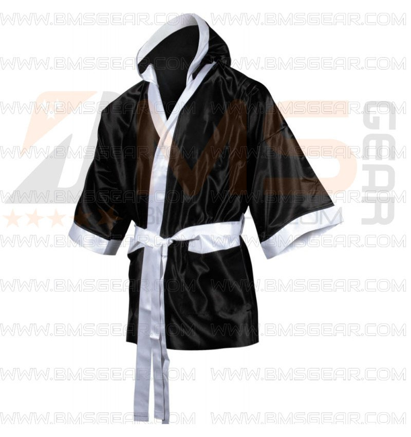 Personalised Boxing Robes: Custom Design Kids Boxing Robe Suppliers Pakistan